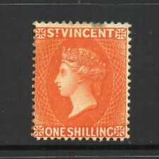 St. Vincent - 1890-93, 1/- Orange (sg58) Mint