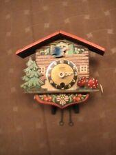 Linden German Cuckoo Clock  Bird, Trees & Mushrooms Parts Repair