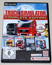 TRUCK SIMULATOR COMPLETE EDITION - INKL EURO UK GERMAN LKW RANGIER - PC DVD