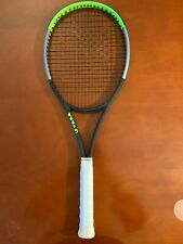 """New listing Wilson Blade 98 v7 16x19 4 1/4"""""""" Grip - Excellent Condition 9.5 of 10"""