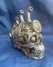 Steampunk Pipe Dream Skull Ornament Nemesis Now New Boxed