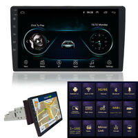 10.1'' Single 1Din Android 8.1 Touch Screen Car Stereo Radio GPS Mirror Link OBD
