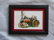 Traction Engine Stunning Framed & Mounted Postcard **Offers**
