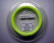 FACTORY CLEARANCE!!! SYN-GUT TOUCH BADMINTON RACQUET STRING 200mtr Spool