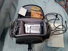 Sony Handy-cam Trv260 Digital-8 Camcorder + Bag + 5 Tapes + 5 Cords +2 Batteries