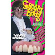 Officially Licensed Billy Bob Teeth Groovy Powers Fancy Dress New