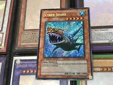 YUGIOH CARD: Cyber Shark TDGS-EN086 Secret Rare 1ST EDITION CHEAPEST FREE POST!!