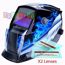 HG pro Solar Auto Darkening Welding Helmet Arc Tig mig certified mask grindingR$
