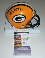 PACKERS Micah Hyde signed mini helmet w/ #33 JSA COA AUTO Autographed STAR DB