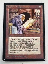 SLIGHT MISCUT Library of Leng -LP- Beta Edition MTG Artifact SEE IMAGES LC-A