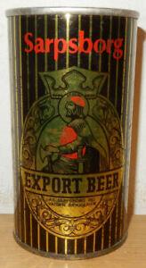 SARPSBORG Export Beer Straight Steel Beer Can from NORWAY (35cl)  Empry !!