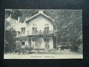 Vintage postcard BELGIUM Chaudfontaine Chalet Rouge