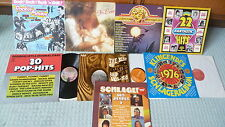 8 LP VA Sammlung POP/Bubbelgum,Country bis Beat und Rock´n Roll 50-70ger  TOP
