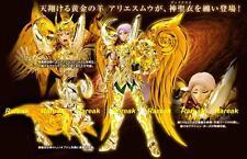 Bandai Saint Seiya Cloth Myth God EX Soul of Gold Aries Mu Action Figure 1pc