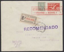 URUGUAY, 1926. Flight C11, 291, Montevideo - Buenos Aires