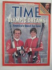 Time Magazine 1-30-1984. Winter Olympics Sarajevo! John Lennon! (beatles)