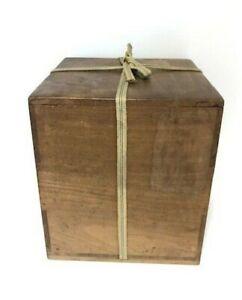 Japanese Wooden Storage Box Old Paulownia Box Big size Made in Japan
