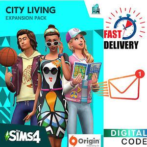 Sims 4 City Living - Expansion - PC EA Origin Digital Key - Global