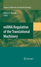 MiRNA Regulation of the Translational Machinery 50 (2009, Hardcover)