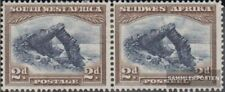 Namibië - Southwest 144-145 horizontaal Echtpaar met Fold 1931 Landesmotive