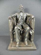 Abraham Lincoln,USA Präsident,23 cm bronzierte Figur,Veronese Kollektion