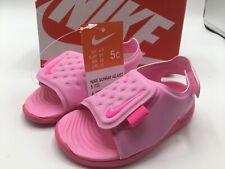 Nike Sunray Adjust 5 TD Psychic Pink Toddler Sports Sandals Size 5c AJ9077-601