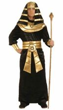 Pharaoh Pyramid King Tut Costume Ancient Egypt Egyptian Adult Men's Black std
