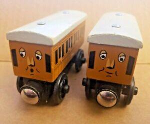 ANNIE & CLARABEL - Thomas & Friends Train Wooden Railway Learning Curve - A21