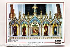 FELLOWES PLAIN CHAPEL MIRROR IMAGE CONTEST 2014 JIGSAW PUZZLE 400 PIECES RARE
