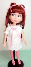 """Basic PATIENCE Pink/White Outfit + Long Auburn Wig for 14"""" Doll Tonner Wilde"""