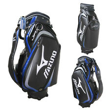 Mizuno JPX Staff Caddy Cart Golf Bag, black/blue -  NEW