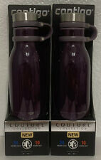 Pack of 2 - Contigo Couture Vacuum-Insulated Stainless Steel Water Bottle, 20 oz