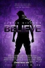 JUSTIN BIEBER'S BELIEVE - Movie Poster - Flyer - 11 x 17 - JUSTIN BIEBER