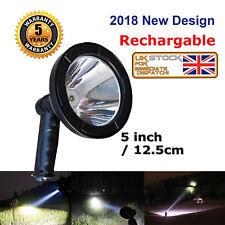 Upgrade 200W Hunting Lamp Rechargable Hand Held Spot Light Work Light Camping