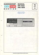 ITT GRAETZ - HIFI 9520 HSC 6500 - Service Manual Schaltplan - B8865