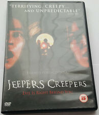 Jeepers Creepers [DVD] [2001] DVD disc mint