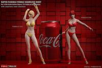 TBLeague 1/12 Female T03A Pale Super Flexible Body Phicen Soft Action Figure Toy