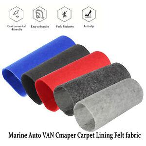 Durable Felt Vehicle Auto Van Carpet Lining Cover Boat Home Inter Floor Underlay