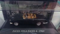 "DIE CAST "" FACEL VEGA FACEL 6 - 1964"" AUTO FRANCESI SCALA 1/43"