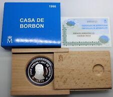 3ª CENTENARIO DE LA CASA BORBÓN 1998 FERNANDO VII MUSEO PRADO 2000 PESETAS FDC
