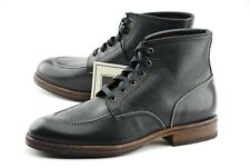 NEW | FRYE 11D WALTER BLACK INDY MOC TOE STYLE ANKLE BOOTS