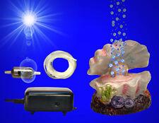 Aquarium Deko ❤️ MUSCHEL ➕ MEMBRANPUMPE ➕ SPRUDLER ❤️ ➕ Zubehör Dekoration