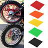72X Motorcycle Spoke Skins Covers Wraps Wheel Pipe Guard Dirt Bike Motorbike UK