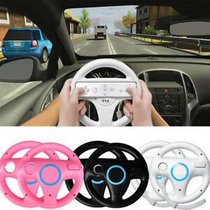 2 PCS Racing Steering Wheel for Nintendo Wii Remote Handle Grip Game Controller