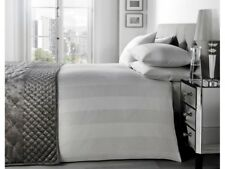 J Rosenthal Signature Collection COTTON SILVER PADUA SuperKing Sized Duvet Set