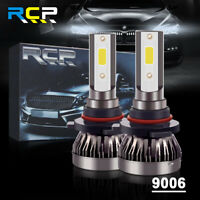 9006 Combo LED Headlight Kits 120W High/Low Beam Bulbs 6000K White