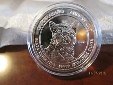 2011 RSC Royal Silver Company Andean Cat 1 oz .99999 Silver Coin Round