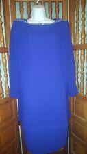 Ursula of Switzerland Mother of Bride Church Dress Size 12P Purple Rhinestone