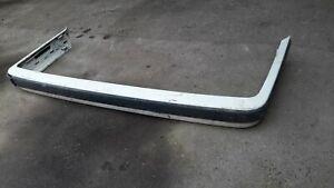BMW E30 REAR BUMPER WITH RUBBING STRIP GENUINE ORIGINAL PART NUMBER 51121 972229