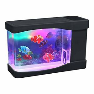 Artificial Mini Aquarium Fish Tank with 3 Fake Fish - by Playlearn